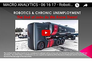 Charles Hugh Smith: Robotics and Unemployment