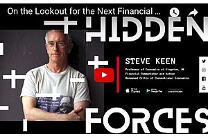 Professor of Economics Steve Keen: The next Financial Crisis