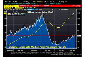 new home sales rise 2.87% in may (to 1995 levels)