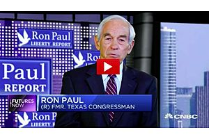 Ron Paul: Stocks to Crash 25 percent, Gold Up 50 Percent by October