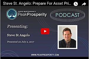 Prepare For Asset Price Declines of 50-75% - Steve St. Angelo