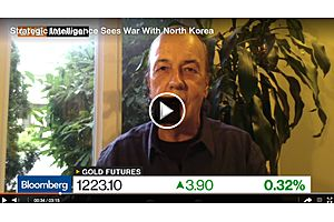 Jim Rickards Discusses Gold and Sees War with North Korea