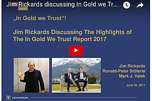 Ronald Stöferle and Jim Rickards Discuss the Current Outlook for Gold