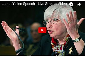 Janet Yellen Speech: Congressional Testimony - Day 2 - LIVE