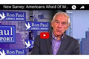 Dr. Ron Paul: Why Americans Afraid of Major War - Survey