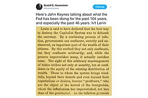 Heres Keynes Talking About the Fed Has Been Doing the past 104 Years