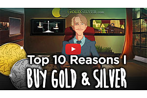 Mike Maloney: The Top 10 Reasons I Own Gold and Silver [New Video Series]