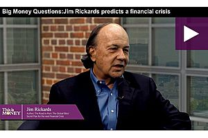 Jim Rickards: The Next Financial Crisis Is Six to Eight Months Away