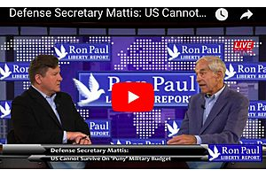 Dr. Ron Paul: US Cannot Survive On 'Puny' Military Budget