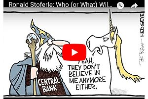 Ronald Stoferle: Who Will Bailout Central Bankers in the Next Crisis?