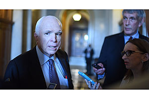 mccain to oppose graham-cassidy, likely sinking obamacare repeal