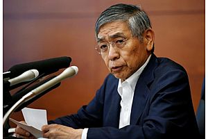 boj's kuroda says no signs of excesses building in markets