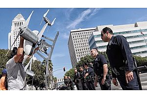 lapd becomes nation's largest police department to test drones
