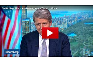 robert shiller:  minds are moving into a 'state of worry'