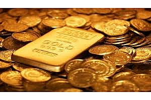 gold up as dollar slips on tax bill worries