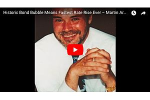 Martin Armstrong: We Are in the Biggest Bond Bubble in History