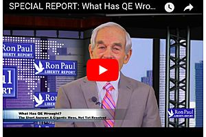 Dr. Ron Paul Asks What has QE done for the Economy