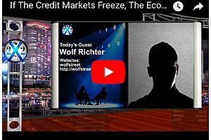 the economic decline will be spectacular if the credit markets freeze