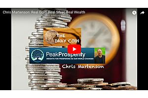 Chris Martenson: Gold and Silver Is the Real Store of Wealth
