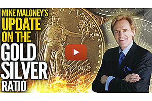 mike maloney's update on the gold/silver ratio