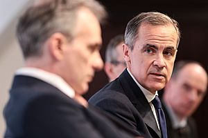 carney says bank of england is already fighting the next crisis