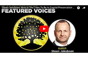 Saxo Bank's Steen Jakobsen: Now Is the Time to Preserve Your Capital