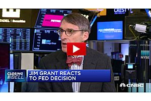 jim grant: gold bullion will be the beneficiary of doubts of the fed