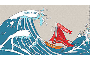 rickards: rate hikes will kill economy, then rate cuts to kill usd
