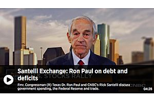 Dr. Ron Paul on Debt and Deficits