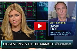 David Tice Says Go to Gold as Deflationary Forces Are Still Strong