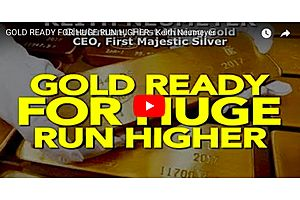 First Majestic Silver's Neumeyer: Precious Metals to take Off This Year