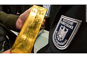 Germany Keeps 70% of Reserves in Gold; World's 2nd-Largest Hoard
