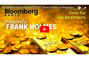 frank holmes: inflation boost gold to $1,500?
