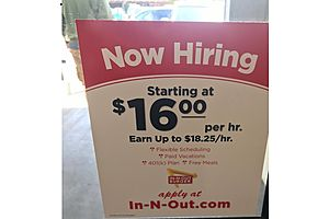 No Inflation? Get Paid $18.25/hr. to Flip Burgers in Marin County, CA