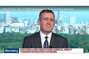 Fed's Bullard: Trade Talks Creating More Uncertainty in Economy