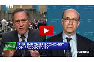 Santelli on the Global Exploding Debt with Professor Ken Rogoff