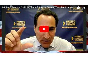 Michael Pento: You're Running out of Time to Get Gold Cheap