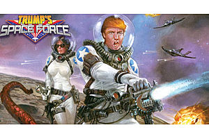 """Fire Up the T-Bill Machine: Trump's """"Space Force"""" Wants $8B Over 5 Years"""