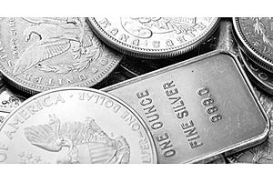 silver price alert: 4% off on silver today...courtesy of the markets!