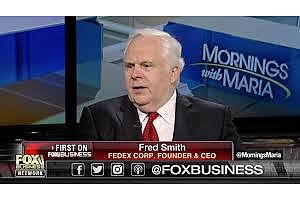 """fedex ceo fred smith: """"history is very, very clear"""" tariffs don't work"""