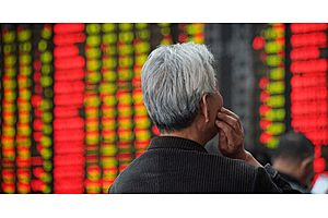 China Stocks Plunge onHeavy Selling Growing Worries About the Economy