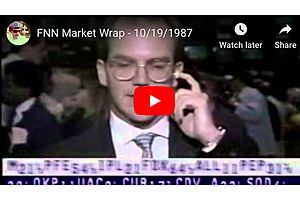 31 Years Ago Today - The Fed Remembers 'Black Monday'