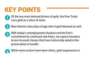 """US Global Investors: """"How Government Policies Affect Gold's Fear Trade"""""""