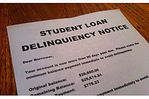 first auto, then credit, now student debt delinquencies tick up