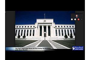 "Ron Paul Interview: ""The Fed's Impossible Dream of Fine-Tuning The Economy"""