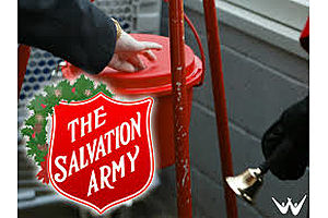 For 6th Year in a Row, Secret Santa Drops Gold Coin in Michigan Salvation Army Kettle