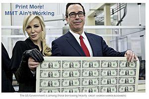 $11 Trillion Debt Wave Shows MMT Doesn't Work