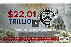 Five Problems with a $22 Trillion National Debt