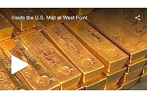 A Rare Look Inside the West Point Mint's Massive Gold Operations