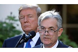 """Trump Blames Fed for Strong Dollar, Says Interest Rates """"Way Too High"""""""